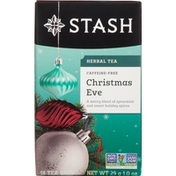 Stash Tea Herbal Tea, Caffeine-Free, Christmas Eve, Tea Bags