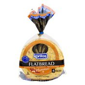 Kontos Flatbread Hummus with Crushed Red Peppers & Spices - 4 PC