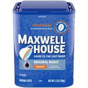 Maxwell House Original Roast Ground Coffee Filter Packs