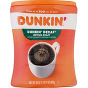 Dunkin' Coffee, Ground, Medium Roast, Decaffeinated