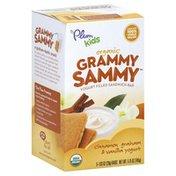 Plum Sandwich Bar, Yogurt Filled, Organic, Cinnamon Graham & Vanilla Yogurt