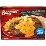Banquet Classic Cheesy Patty And Mashed Potatoes