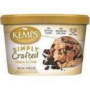 Kemps Simply Crafted Mocha Mudslide Premium Ice Cream