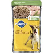 Pedigree Little Champions Meaty Ground Dinner W/Turkey Wet Dog Food