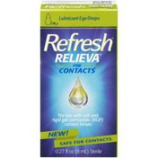 Refresh Lubricant Eye Drops for Contacts