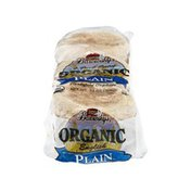 Barowsky's Organic English Muffins Plain - 6 CT