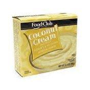 Food Club Coconut Cream Instant Pudding & Pie Filling