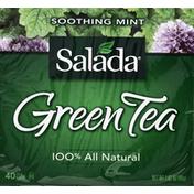 Salada Green Tea, Soothing Mint, Bags