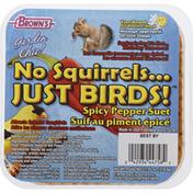 Brown's Bird Food, Spicy Pepper Suet