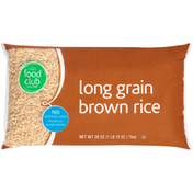 Food Club Long Grain Brown Rice