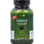 Irwin Naturals Fat-Loss Diet, Forskolin, Liquid Soft-Gels