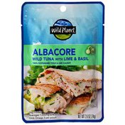 Wild Planet Albacore Wild Tuna With Lime & Basil Single-Serve Pouch
