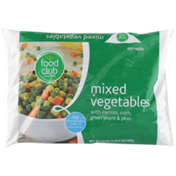 Food Club Mixed Vegetables With Carrots, Corn, Green Beans & Peas