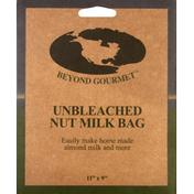 Beyond Gourmet Nut Milk Bag, Unbleached