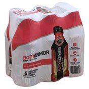 BodyArmor Sports Drink, Premium, Strawberry Banana, 6 Packs