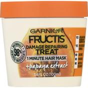 Garnier Hair Mask, 1 Minute, Papaya Extract