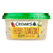 Cedar's Foods Mediterranean Hot Pepper and Garlic Tzatziki