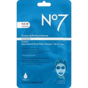 No7 Sheet Mask, Serum Boost, Advanced, Protect & Perfect Intense