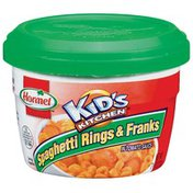 Hormel Kid's Kitchen In Tomato Sauce Microwave Cup Spaghetti Rings & Franks