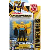 Transformers Figure, Bumblebee, Sting Shot, Age 6+