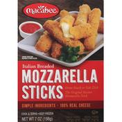 Macabee Mozzarella Sticks, Italian Breaded