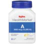 Hy-Vee Healthmarket, A 3000 Mcg (10,000 Iu) Eye Health Support Vitamin Supplement Softgels