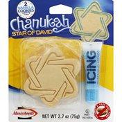 Chanukah Dreidel Cookies, Vanilla