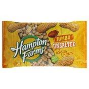Hampton Farms Peanuts, Unsalted, Jumbo, Roasted