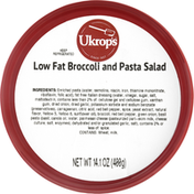 Ukrops Low Fat Broccoli and Pasta Salad