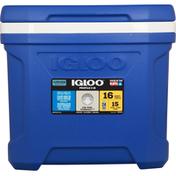 Igloo Cooler, Riser Technology, Blue