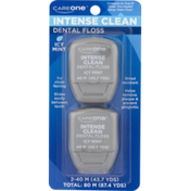 CareOne Intense Clean Icy Mint Floss