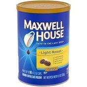 Maxwell House Light Roast Light Ground Coffee
