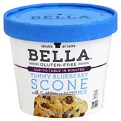 Bella Gluten Free Scone Mix, Yummy Blueberry, with Sweet Berries