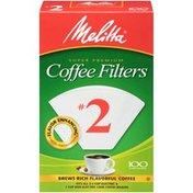Melitta Coffee Filters, No.2, Super Premium