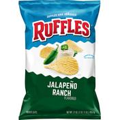 Ruffles Potato Chips, Jalapeno Ranch Flavored