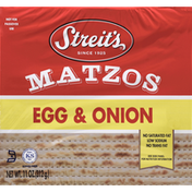 Streit's Matzos, Egg & Onion