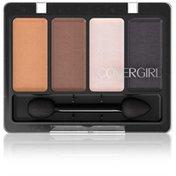 CoverGirl Eye Enhancer COVERGIRL Eye Enhancers 4-Kit Eye Shadow, Prima Donna .19 oz (5.5 g) Female Cosmetics