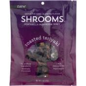 Shrooms Mushroom Jerky, Portabella, Roasted Teriyaki, Bag