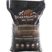 Bear Mountain BBQ Woods, Mellow Smoky Flavor, Bourbon BBQ, Premium