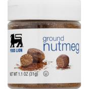 Food Lion Nutmeg, Ground, Jar