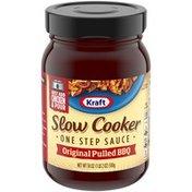 Kraft Slow Cooker Original Pulled BBQ One Step Sauce