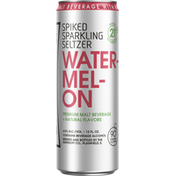 Smirnoff Sparkling Seltzer, Watermelon, Spiked