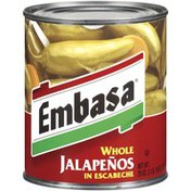 Embasa Whole Jalapenos in Escabeche