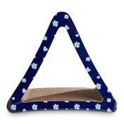 You & Me Assorted Colors Triangle Cardboard Cat Scratcher