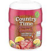 Country Time Strawberry Lemonade Naturally Flavored Powdered Drink Mix
