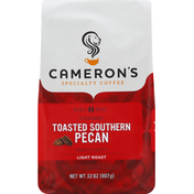 Camerons Coffee, Whole Bean, Light Roast, Toasted Southern Pecan