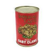 Imperial Taste Whole Baby Clams