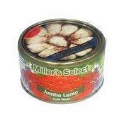 Miller's Select Select Jumbo Lump Crab Meat