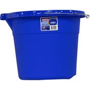 Sterilite Bucket, Blue Morpho, 18 Quarts