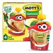 Mott's Applesauce Pouches, Cinnamon